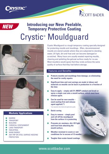 Crystic Mouldguard brochure