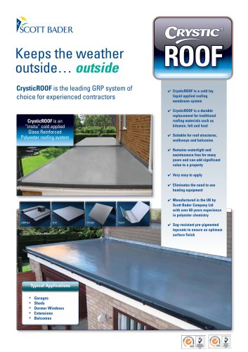 CrysticROOF brochure