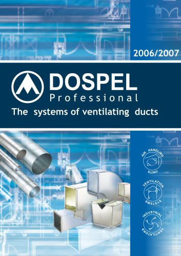 The systems of ventilating ducts