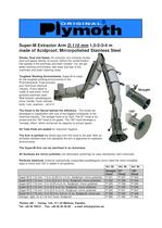 Super-M Extractor Arm D.110 mm 1,5 - 4 m - 1