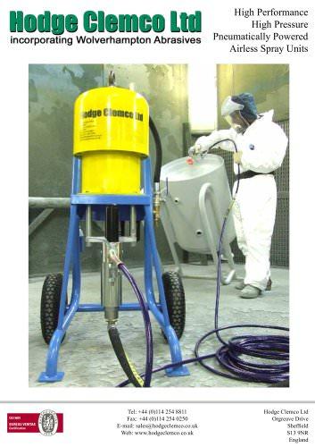 Airless Spray Units