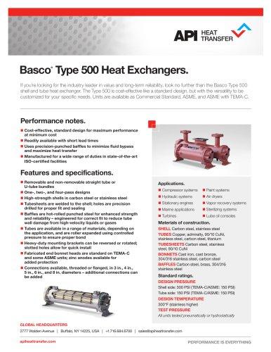 Basco®  Type 500