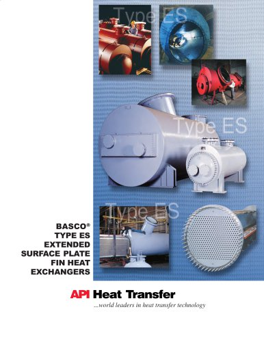 Basco® Type ES Extended Surface Plate Fin Heat Exchangers
