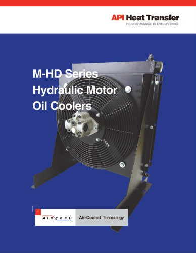 M-HD Hydraulic Series Oil Coolers