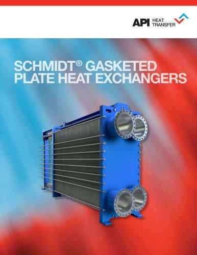 SCHMIDT® GASKETED PLATE HEAT EXCHANGERS