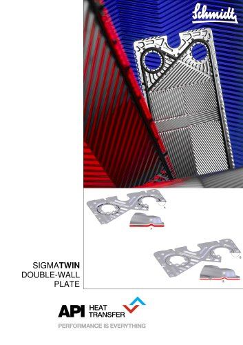 SIGMATWIN Double Wall Plate Heat Exchangers