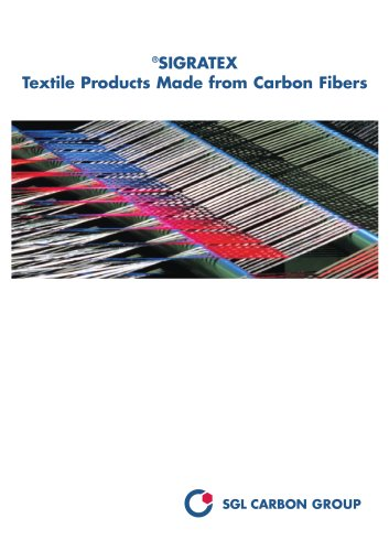 ®SIGRATEX : Textile Products Made from Carbon Fibers