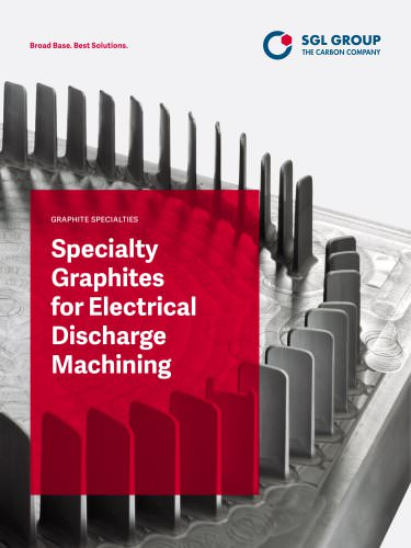 Specialty graphites for electrical discharge machining