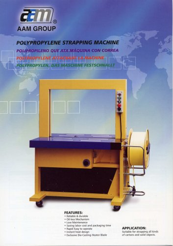 Polypropylene Strapping Machine