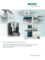 Advanced Materials Testing