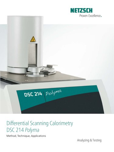 DSC 214 Polyma - Surprisingly Easy - The New All-Inclusive Product Package for DSC - product brochure