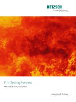 NTA Fire Testing Systems