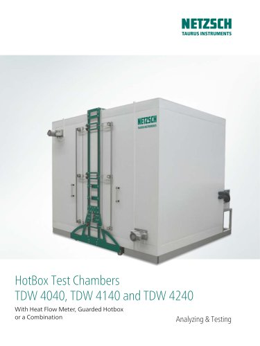 NTA HotBoxes Test Chambers