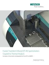 TG-FTIR - product brochure