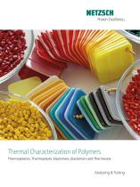Thermal Characterization of Polymers - application brochure