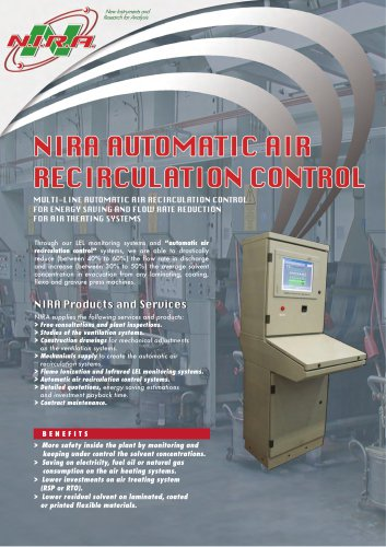 AUTOMATIC AIR RECIRCULATION CONTROL SYSTEMS