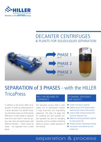 3-Phases TricaPress
