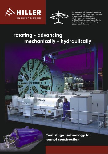 DecaDrillingFluid® - Technology for Tunneling