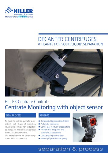 Hiller Centrate Monitoring