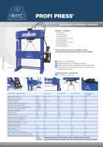 Motorised workshop presses