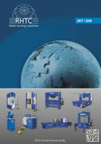 RHTC hydraulic presses, punching- and bending machines