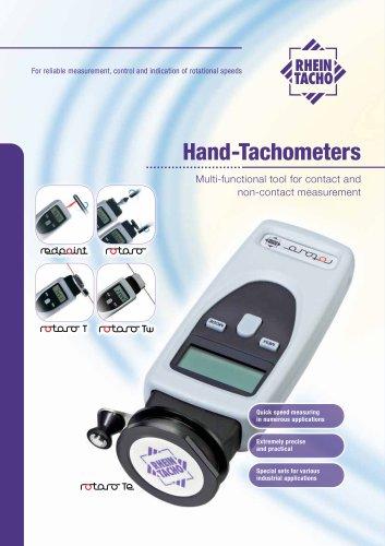 Digital hand tachometer rotaro