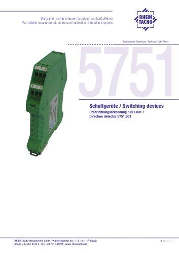 Direction detector 5751.001