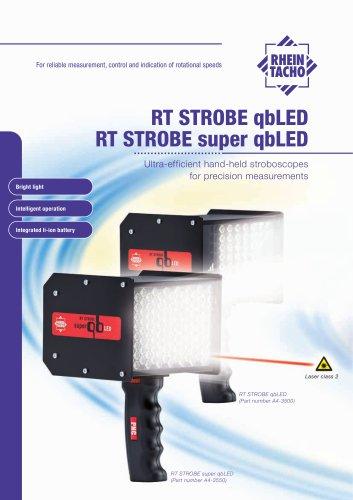 Hand-held stroboscope: RT STROBE qbLED