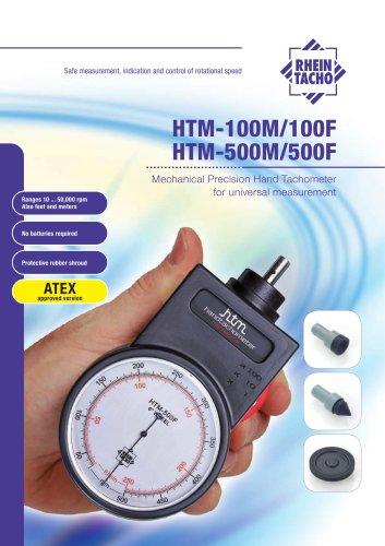Mechanical Hand-Tachometer HTM