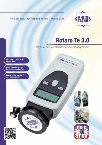 Rotaro Te 3.0 Special set for elevator-/rope measurement