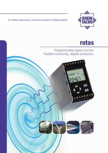 ROTAS speed monitor