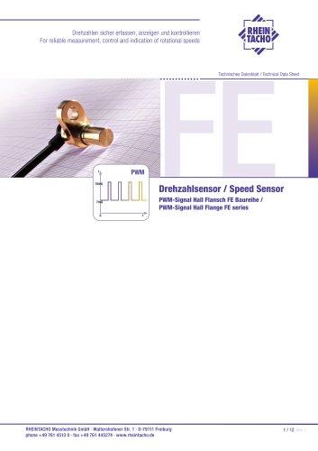 Sensor: PWM-Signal Hall FE series