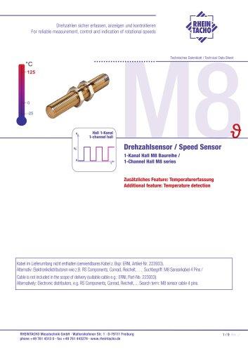 Sensors: 1-Channel Hall M8 series