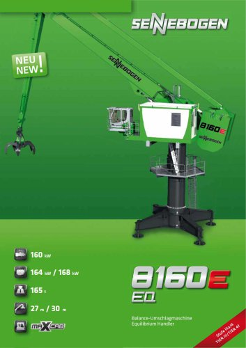 Balancer / Equilibrium Handler 8160 EQ E-Series - Green Line