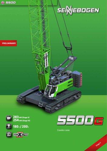Crawler Crane 5500 - Crane Line