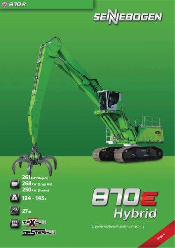 Material Handler 870 Mobile - Green Line