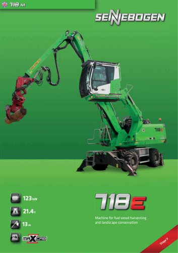 Material Handling Machine 718 Mobile - Green Line