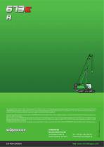 Telescopic Crane 673 Crawler / E-Series - Crane Line - 16