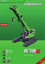 Telescopic Crane 673 Crawler / E-Series - Crane Line - 1