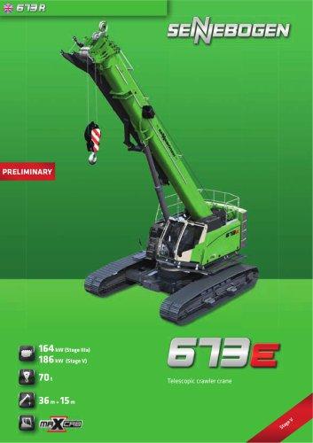 Telescopic Crane 673 Crawler / E-Series - Crane Line
