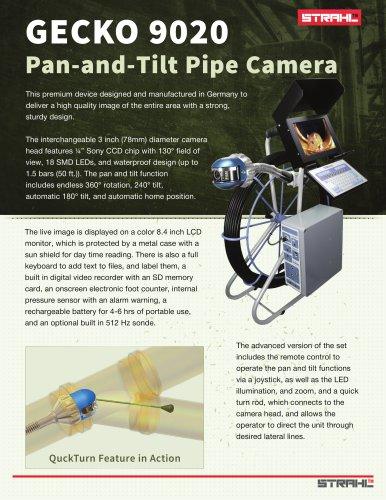 Pan-and-Tilt camera Gecko