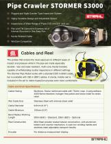 Pipe Inspection Crawler Robot STORMER S3000