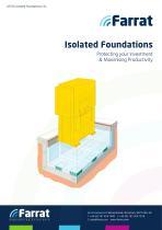 Farrat Isolated Foundations