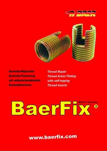 BaerFix® Thread Inserts and Thread Repair