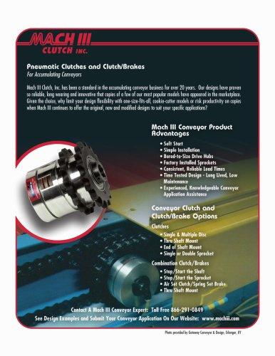 Mach III Conveyor Clutches & Clutch-Brake Combinations