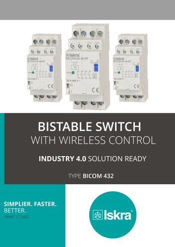 Bistable Switch with Wireliss Control