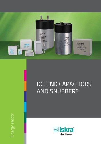 DC link capacitors and snubbers