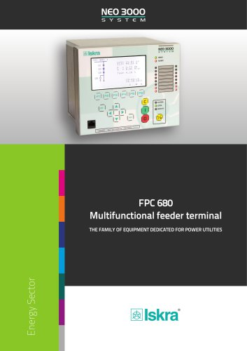 FPC680 Multifunctional Protectio and Control Relay