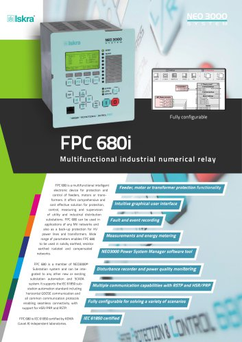 FPC680i Industrial Numerical Relay