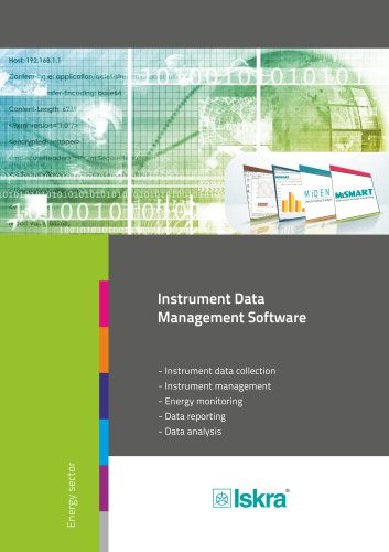 Instrument Data Management Software